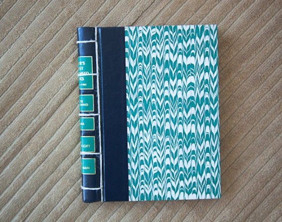 vintage hand made journal // hard bound journal