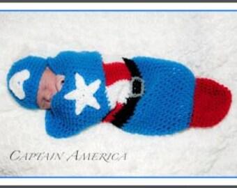 Superhero Hat and Cocoon Set #1