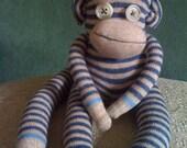 Baron Coco Sock Monkey