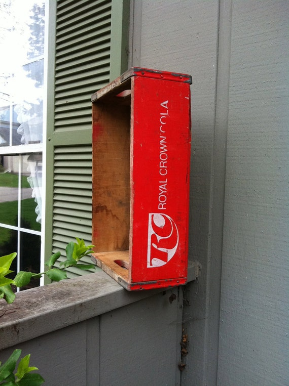 RC Cola Wooden Crate