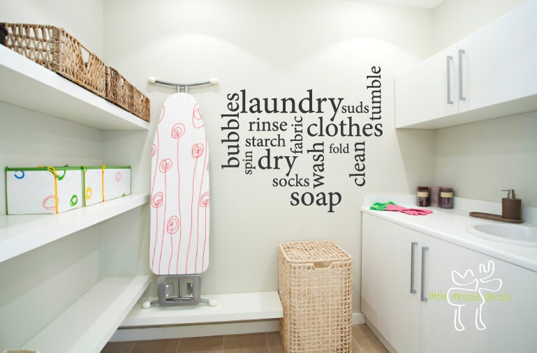 Laundry Room Wall Decor Stickers : Unavailable listing on etsy