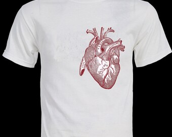 BIG HEART  Beautiful Anatomy T-Shirt