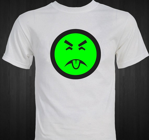 Mr. Yuk 1980's Poison Poisonous Funny T-Shirt