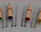 Brand NEW Needle Felt Needles And Punch Tool Holders - Colour Color Coded Mixed Gauge - Next Day Dispatch
