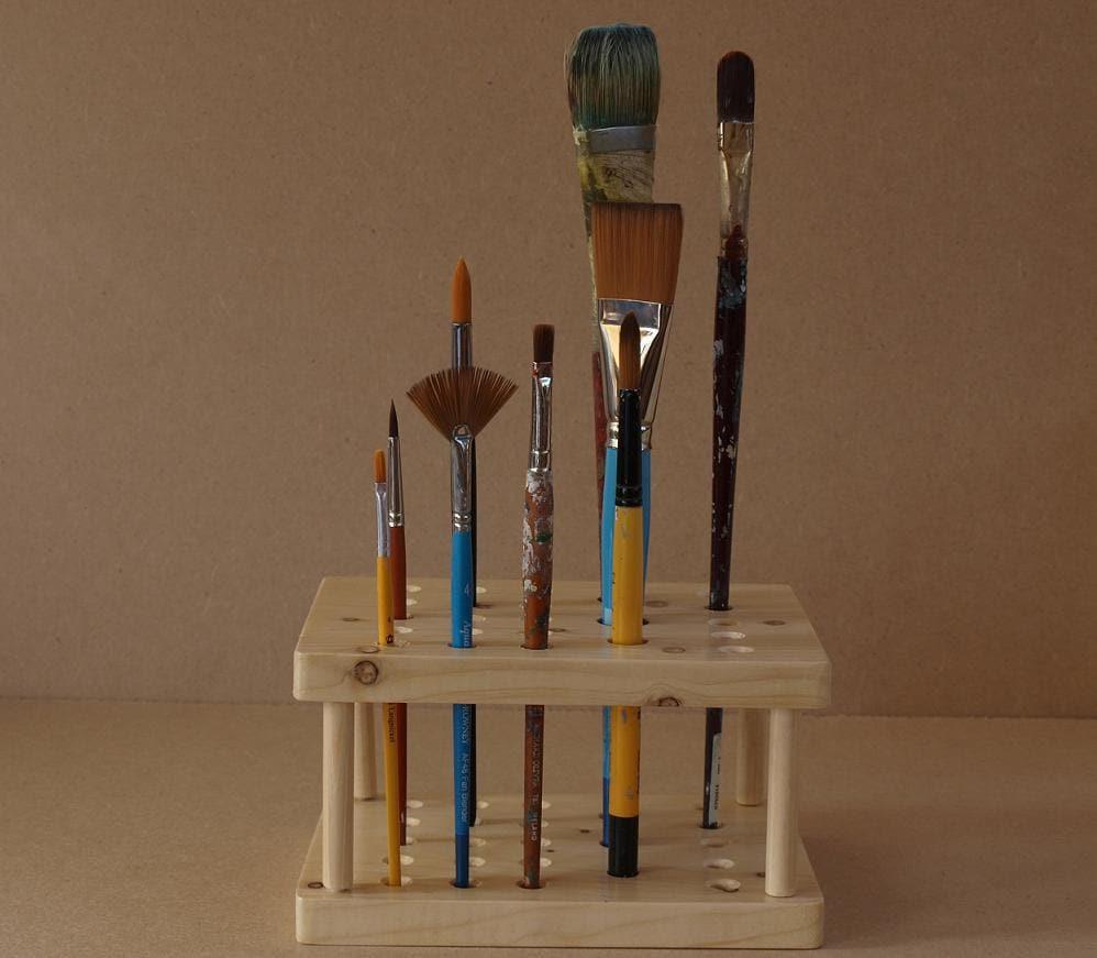 Wet Paint Brush Holder