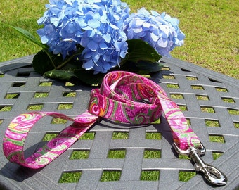 Pretty in Pink - 4 Foot Leash