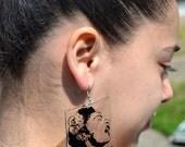 Clear Billie Earrings