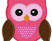 Instant Download Owl Applique Machine Embroidery Design NO:1122