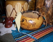 Small Gourd Western Horse Bowl