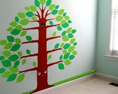 Children's wall stickers decals nursery - wink Uncle Art murals Free Shipping