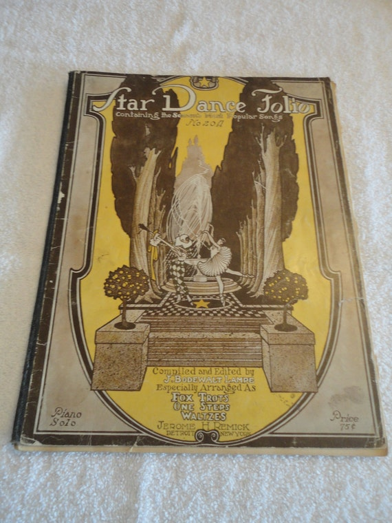 Star Dance Folio Music book