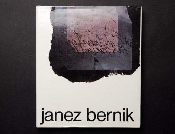 Rare Hardcover Book on Yugoslav Artist Janez Bernik