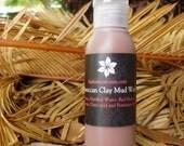 Moroccan Clay Mud Wash - Shampoo Alternative - Trial Size - 3oz
