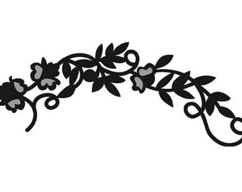 Paper Cutting Die - Flower Garland - for Scrapbooking and Card Making - Marianne Craftables - CR1216
