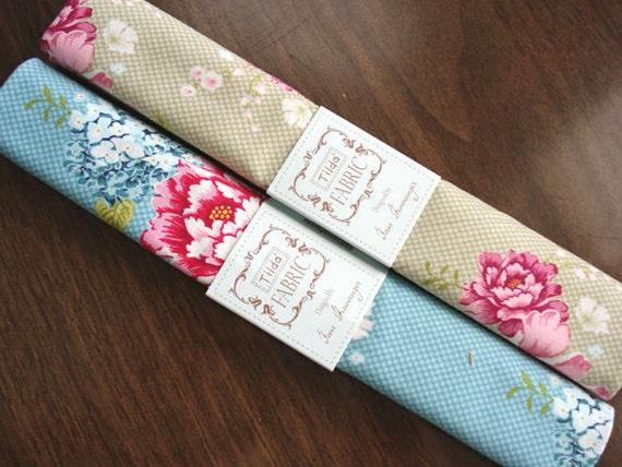 Tilda Cotton Fabric - Now in USA - Sewingbird Collection - Tone Finnanger - European Quality