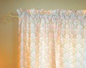 Nursery Curtains or Valance, Lined  Drapes For Baby Room, Curtain Panels For Nursery Decor