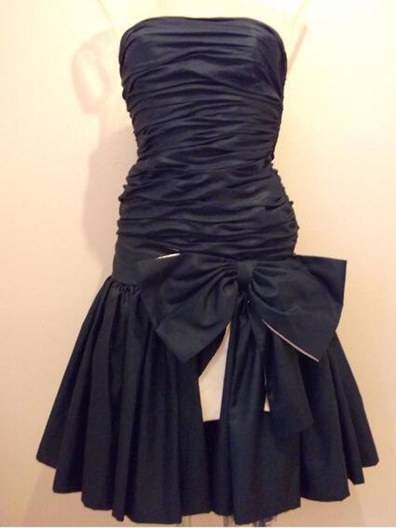 Vintage late 1980s Prom Dress from Bernshaw