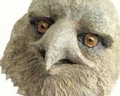 Eagle-Bird-Nature-Paper Mache-Art-Face