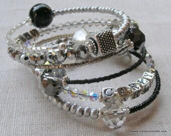 Personalized Mother's Bracelet Wrap Bracelet - Drama Wrap