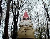 Detective Gnome Framed