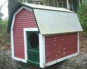 Barn Owl Birdhouse Barn