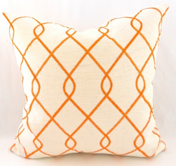 Decorative Pillow Measurements : Pillow Covers ANY SIZE Decorative Pillow Cover by MyPillowStudio