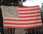 Vintage Reproduction Colonial American flag