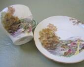 Shelley Fine Bone China Teacup and Saucer