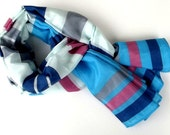 Scarf Striped for spring and summer