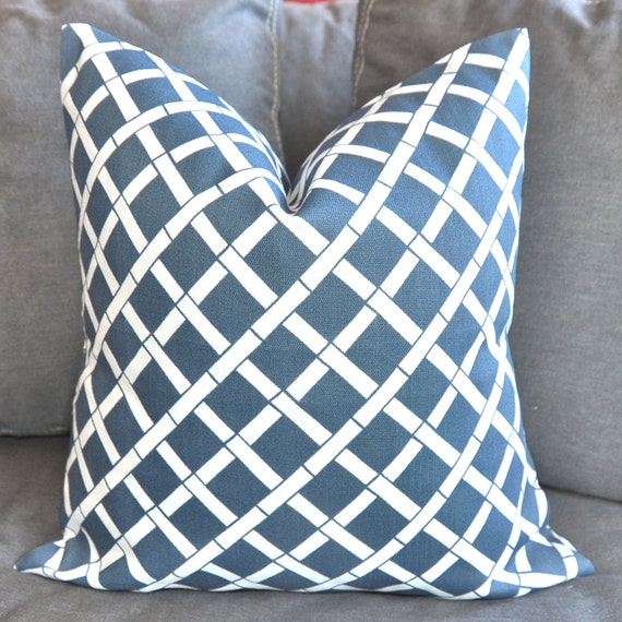 ON BOTH SIDES - Pillow Covers - Decorative Pillow Covers - Throw Pillow Covers - 18x18 inch - Indoor/Outdoor