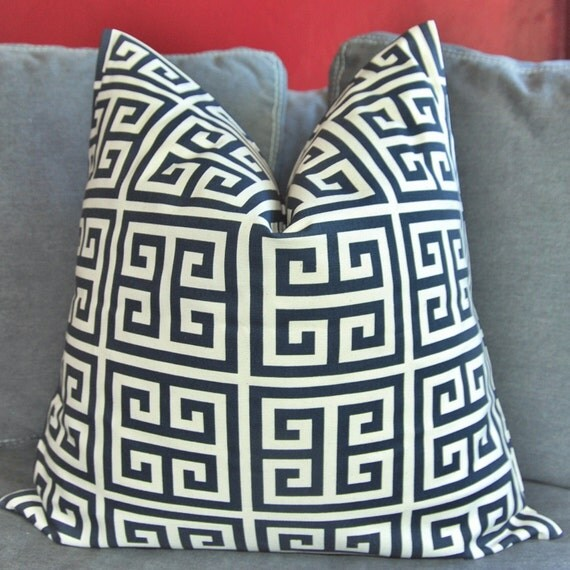 ON BOTH SIDES - Pillow Cover - Decorative Pillow Cover - Throw Pillow Cover - 18x18 inch