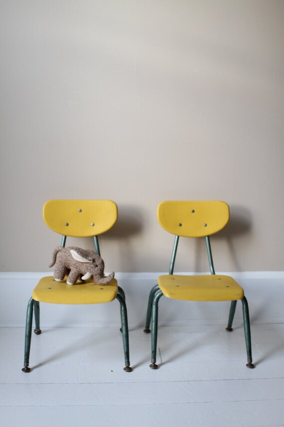 RESERVED FOR - sheakorinne - Vintage Children's School Chair