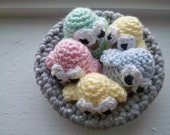 Crochet Baby Birds in Nest