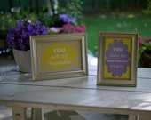 You Are My Sunshine - 2 Framed Signs