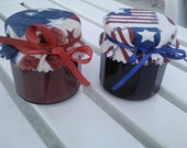 Ice Cream Topping/ Patriotic Gift/ Strawberry/ Blackberry Ice Cream Topping (Other Flavors too)- 4 oz  Each/