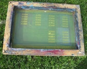 Silk Screen Panel