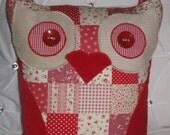 Owl cushion handmade