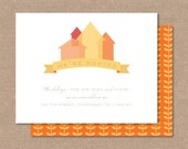 """Home Is Moving Announcements """"DIGITAL PRINTABLE FILE """""""