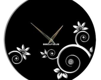 "Large wall clock, Wall clock, ""Spring"", Clock"