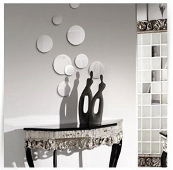 ... Fireplaces Mirror Wall Decor. Circle ...