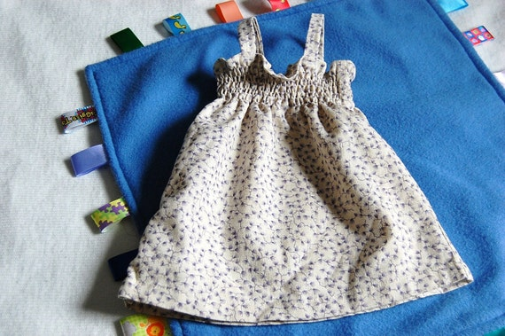 Cotton Linen Sundress 3 6mo hippie clothes by