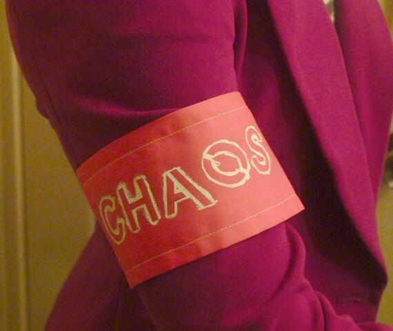 Chaos Adjustable Punk Armband