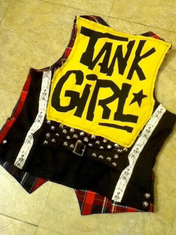 Tank Girl Studded Vest