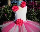Pink and Blue Tutu Set 3 Piece Set