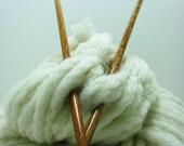"Ebony Straight Knitting Needles (10"" size 7)"