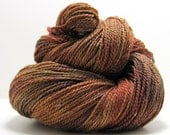 Ode to the Sea Sock in Autumn Fire by Perfect Day Yarns