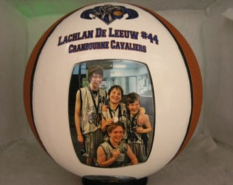 Photo Basketball - create YOUR personal fan ball
