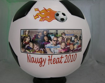 Photo Soccer Ball - create YOUR personal fan ball