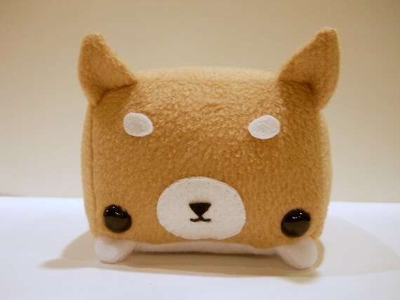 Rectangle Animals Shiba Inu Plush- RESERVED FOR MISTY