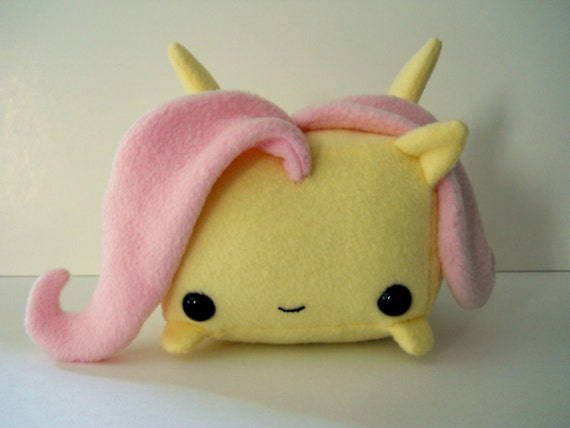 Rectangle Animals Fluttershy Pony plush